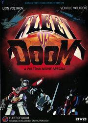 Voltron FleetofDoom cover