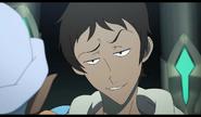 Lance flirting with Princess Allura