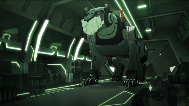 File:S2E10.40. Blue Lion in Beta Traz hangar.png