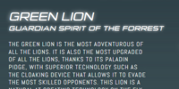Green Lion (Legendary Defender)
