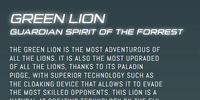 Green Lion (Legendary Defender)