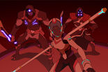 Allura and 2 Warriors of the Blade of Marmora
