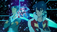 Keith, Lance and the Red Lion's Hologram