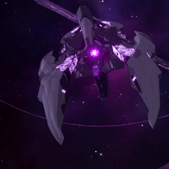 Zarkon's main ship pulls in the Black Lion.