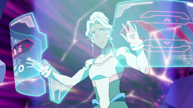 File:S2E01.41. Allura hunts for exit to wormhole.png