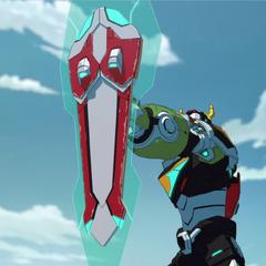 Voltron's shield.