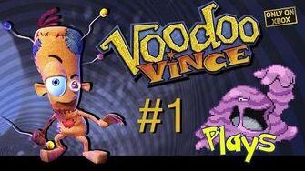 Voodoo Vince Walkthrough 100% - Part 1 (Muk Plays)