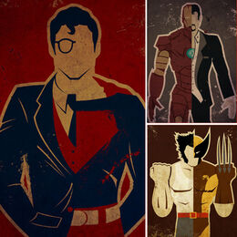 Superhero-Posters