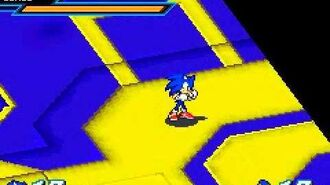 Sonic battle final boss battle