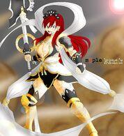 Erza scarlet nakagami armor by maplecolours-d5xqkvo