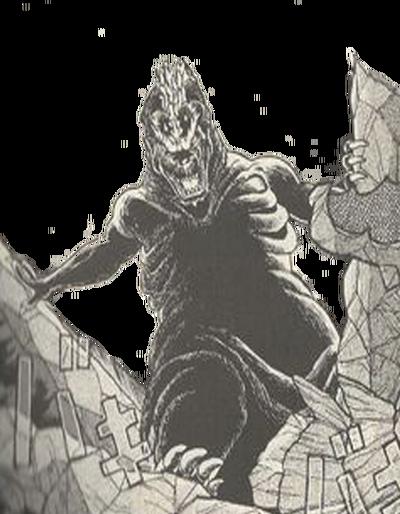 Godzilla mega mutated