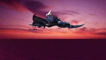 Jyarumu-glidingflight