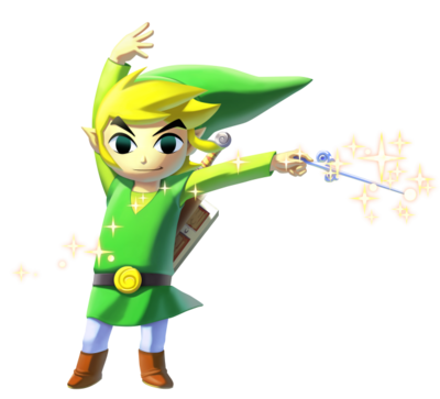 WiiU Wind Waker Link