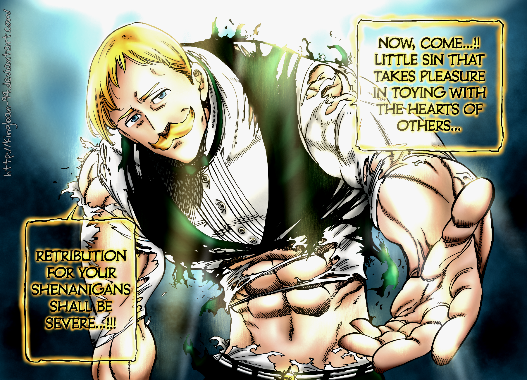 Escanor the lion s sin by kingban 94-d9y49cb