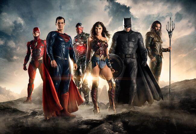 DCEU Justice League 4K