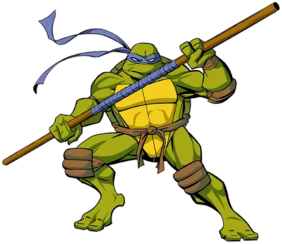 4Kids Donatello Render By Skodwarde