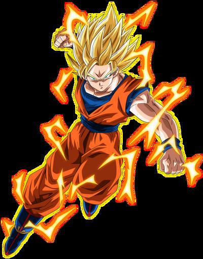 Son Goku SSJ2