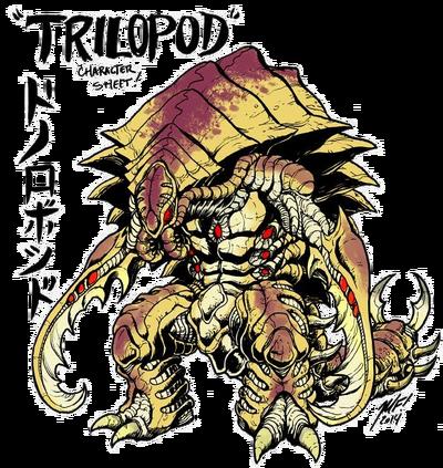 Trilopod Beta by Matt Frank