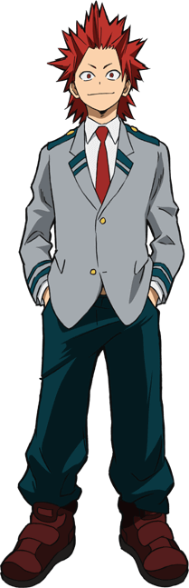 Eijirou Kirishima School Uniform