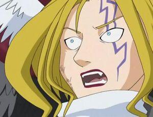 Frightened Lucemon