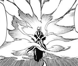 True Shikai Ichigo's Reiatsu