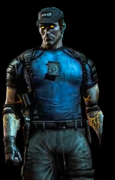 Cop Man Render
