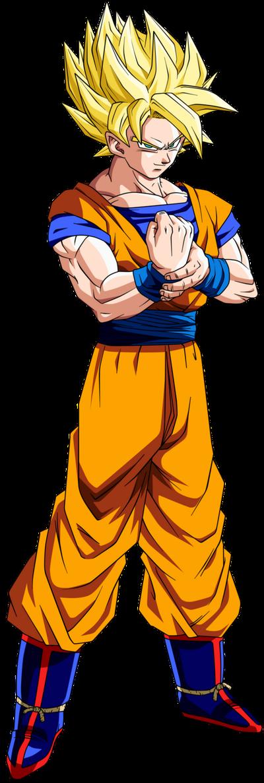 Goku ssj by dbzandsm-d4s2cd4