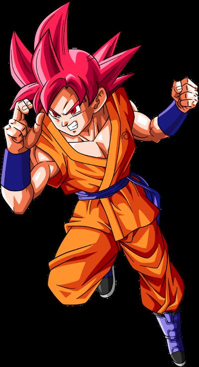 Super saiyan god goku dragonball super by rayzorblade189-d9visfn