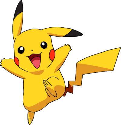Ash Pikachu Anime