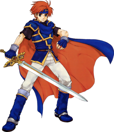 Roy (Binding Blade Artwork)