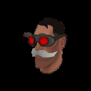 Tf2item dr- gogglestache