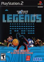 Taito Legends PS2 cover