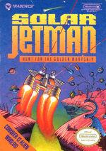 Solar Jetman Hunt for the Golden Warpship NES cover