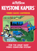 Atari 2600 Keystone Kapers box art