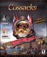 File:Cossacks European Wars video game box art.jpg