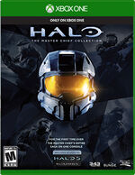 Halo The Master Chief Collection Xbox One cover