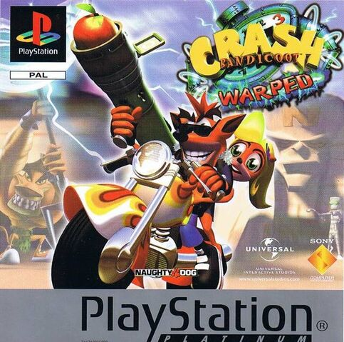 File:Crash Bandicoot 3 Warped (PAL).jpg
