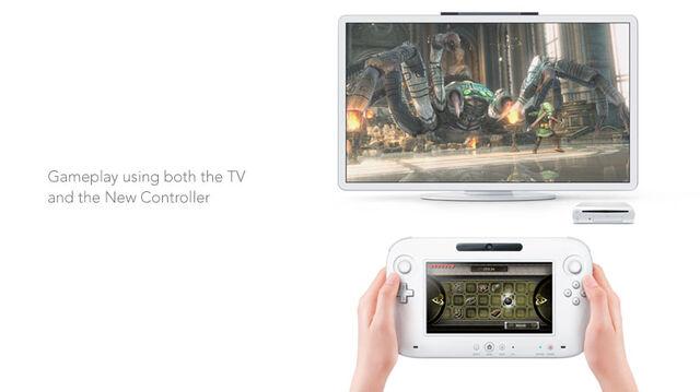 File:Wii u console and controller.jpg