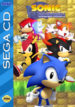 Sonic the Hedgehog Megamix Mega CD cover