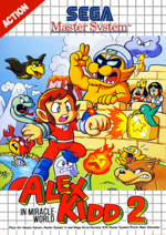 Alex Kidd in Miracle World 2 SMS box art