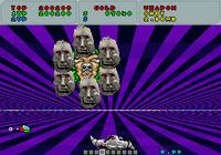 Fantasy Zone X68000 screenshot