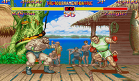 Super Street Fighter II X68000 screenshot