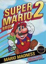 Super Mario Bros 2 NES cover
