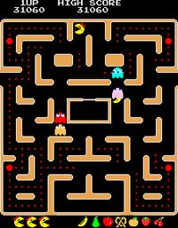 Ms Pac Man arcade screenshot