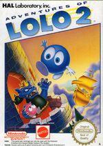 Adventure of Lolo 2 NES cover