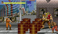 Final Fight X68000 screenshot