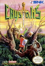 Crystalis NES cover