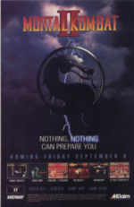 Mortal kombat ii flyer