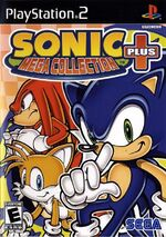 Sonic mega collection PLUS cover ps2