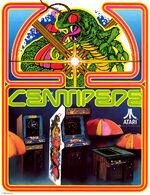 Centipede arcade flyer